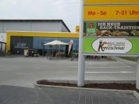 Werbeschild, Netto und Kretzschmar