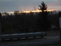Ich bin noch näher 'rangefahren, wurde aber auch nicht mehr Sonnenaufgang 😉