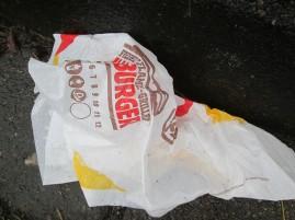 Papier von Burger King