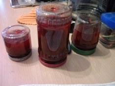 Einige Marmeladengläser